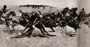 Frederic Remington Indian Warfare oil painting picture wholesale