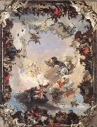 Giambattista Tiepolo Allegory of the Planets and Continents oil painting picture wholesale