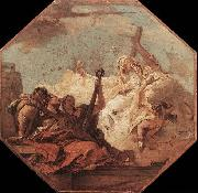 Giovanni Battista Tiepolo The Theological Virtues oil painting picture wholesale