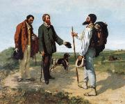 Gustave Courbet Encounter oil painting picture wholesale