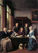 HOREMANS, Jan Jozef II The Marriage Contract oil painting artist