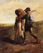 Jean Francois Millet People go to work oil painting picture wholesale