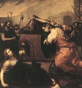 Jusepe de Ribera The Duel of Isabella de Carazzi and Diambra de Pottinella oil painting picture wholesale
