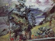 Lovis Corinth Walchensee Landscape oil painting