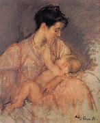 Mary Cassatt Study of Zeny and her child oil painting picture wholesale