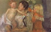 Mary Cassatt After the bath oil painting picture wholesale