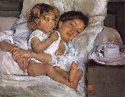 Mary Cassatt Breakfast on bed oil painting picture wholesale