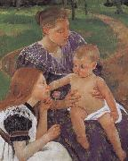 Mary Cassatt Family oil painting picture wholesale