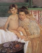 Mary Cassatt Get up oil painting picture wholesale