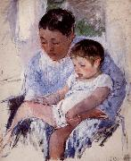 Mary Cassatt Mother and her child oil painting picture wholesale