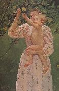 Mary Cassatt The Baby Reaching for  the apple oil painting picture wholesale