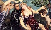 Paris Bordone Allegory with Lovers oil painting picture wholesale