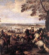 Parrocel, Joseph The Crossing of the Rhine by the Army of Louis XIV oil painting picture wholesale