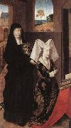 Petrus Christus Isabel of Portugal with St Elizabeth oil painting picture wholesale