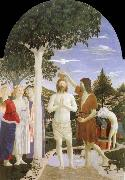 Piero della Francesca Baptism of Christ oil painting picture wholesale