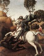 RAFFAELLO Sanzio St George and the Dragon oil painting picture wholesale
