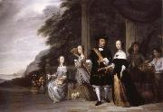 REMBRANDT Harmenszoon van Rijn Pieter Cnoll and his Family oil painting picture wholesale