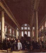 REMBRANDT Harmenszoon van Rijn Interior of the Portuguese Synagogue in Amsterdam oil painting picture wholesale