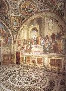 Raffaello View of the Stanza della Segnatura oil painting picture wholesale