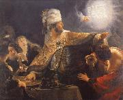 Rembrandt van rijn Write on the wall oil painting picture wholesale