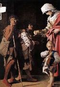 SCHEDONI, Bartolomeo The Charity oil painting artist