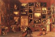 Samuel FB Morse Gallery of the Louvre oil painting picture wholesale