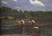 Thomas Eakins The buddie is rowing the boat oil painting picture wholesale