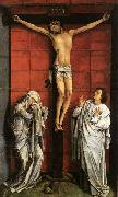 WEYDEN, Rogier van der Christus on the Cross with Mary and St John oil painting picture wholesale