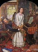 William Holman Hunt Unknown work oil painting picture wholesale