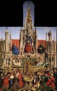 unknow artist The Source of Life and the Triumph of Church over the Synagogue oil painting picture wholesale