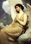 Abbott Handerson Thayer Winged Figure oil