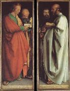 Albrecht Durer The four apostles oil painting picture wholesale