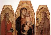Ambrogio Lorenzetti Madonna and Child with Mary Magdalene and St Dorothea oil
