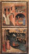 Ambrogio Lorenzetti Scenes of the Life of St Nicholas oil painting picture wholesale