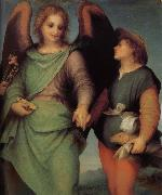 Andrea del Sarto Angel and christ in detail oil painting picture wholesale