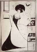 Aubrey Beardsley The Toilet of Salome oil