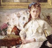 Berthe Morisot Detail of artist-s mother and his sister oil painting picture wholesale