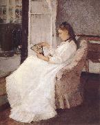 Berthe Morisot Artist-s sister beside the window oil painting picture wholesale