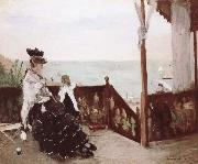 Berthe Morisot Seaside oil painting picture wholesale