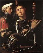 CAVAZZOLA Warrior with Equerry oil