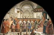 Domenico Ghirlandaio Confirmation of the Rule oil painting picture wholesale