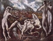 El Greco Laocoon oil painting picture wholesale