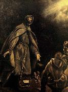 El Greco The Stigmatization of St Francis oil painting picture wholesale