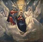 El Greco The Coronation ofthe Virgin oil painting picture wholesale