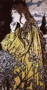Eugene Grasset Contemplation oil painting picture wholesale