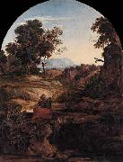 Ferdinand Olivier Elijah in the Wilderness oil painting artist