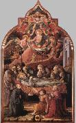 Fra Filippo Lippi Funeral of St Jerome oil painting picture wholesale