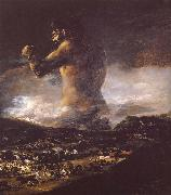Francisco Goya Colossus oil painting picture wholesale