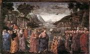 GHIRLANDAIO, Domenico Calling of the First Apostles oil painting picture wholesale