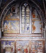 GIOTTO di Bondone Frescoes in the fourth bay of the nave oil painting picture wholesale